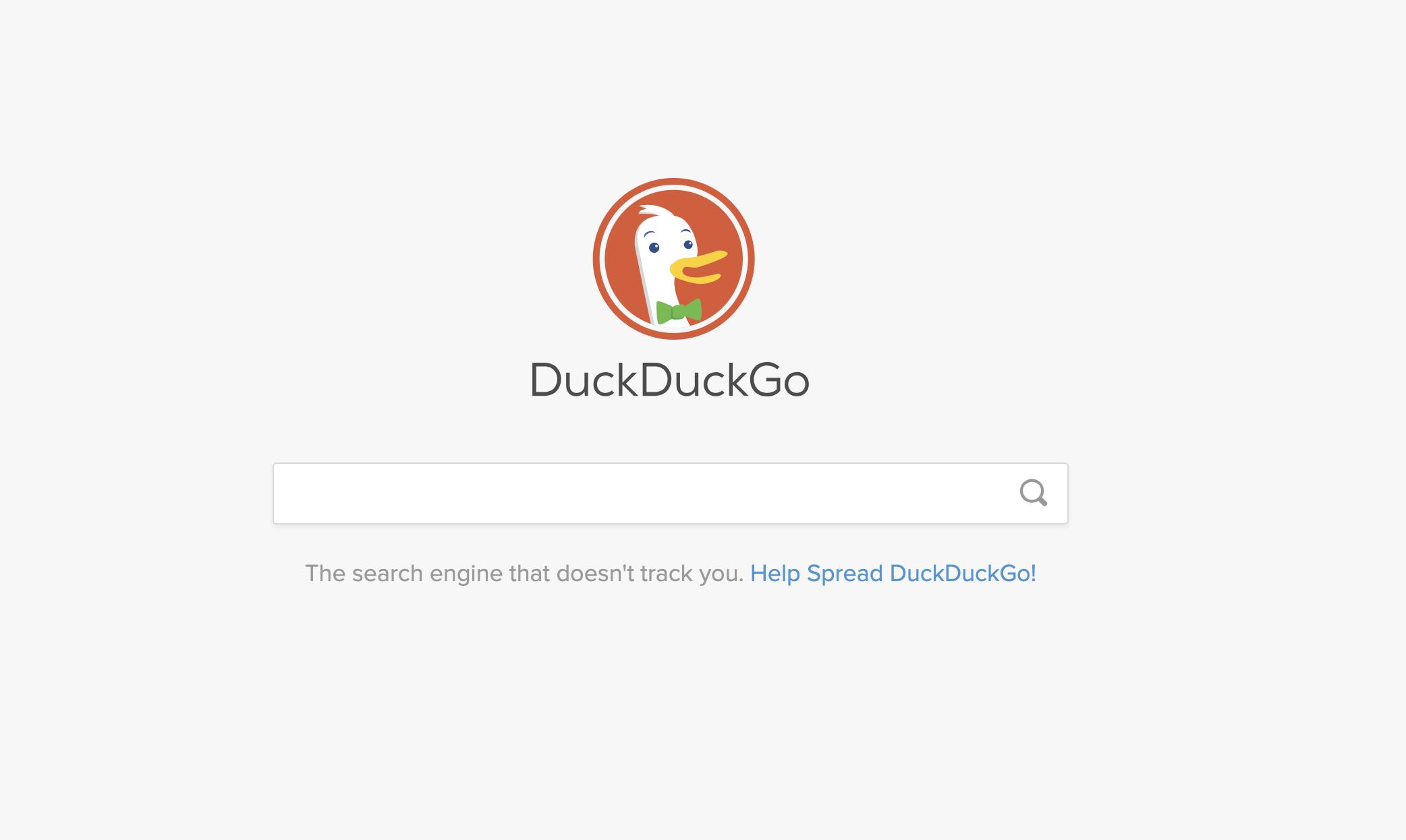 موتور جستجو duckduckgo