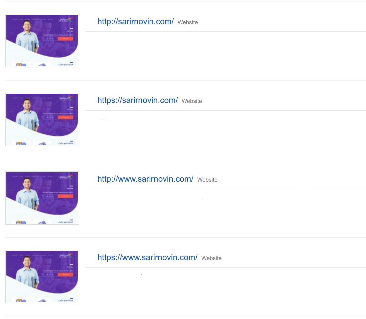 ثبت سایت در کنسول گوگل با ۴ حالت آدرس دهی