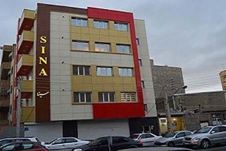 ساختمان سینا دفتر سریرنوین در تبریز